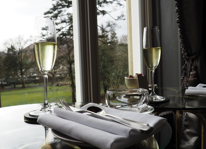 Champagne Afternoon tea at The Forest Side