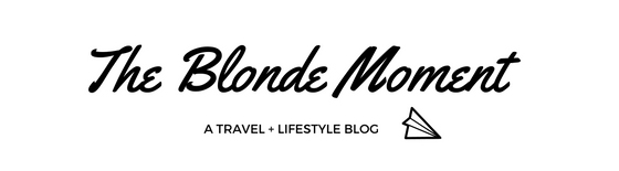The Blonde Moment, blog title