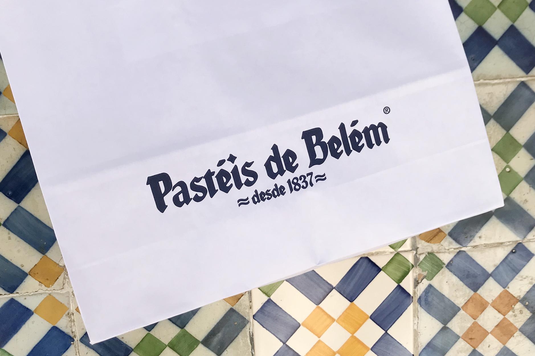 Pasteis de Belem bag